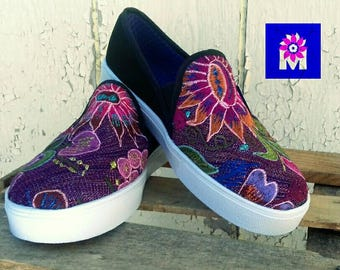 CLEARANCE! Sneakers mexican hand embroidered