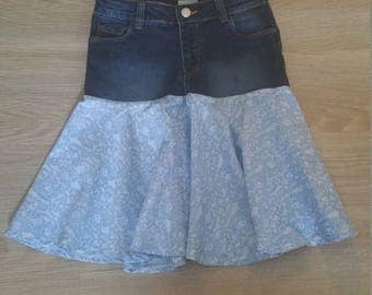 Size 8 Denim Skirt