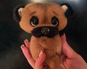 Cute little toy Dog the Pug
