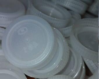 100 Water bottle caps