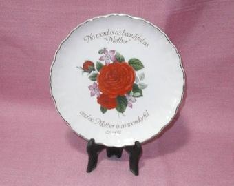 James Kent Old Foley, motherday s plate/Vintage/1950-1954/pottery/British