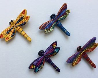 Dragonfly Fan Pull or Ornament