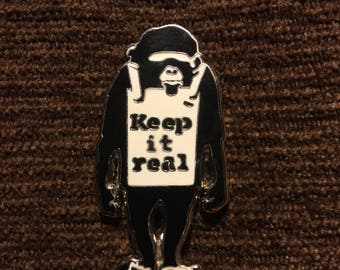 Keep it Real hat pin