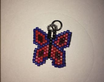 Butterfly Bead Charm