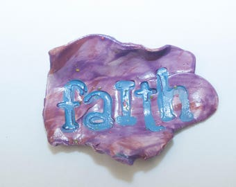 Ceramic Dish - Faith