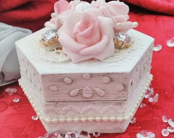 Ring Box Shabby Chic Style