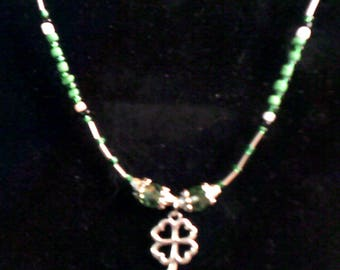 Four Leaf Clover Necklace #2