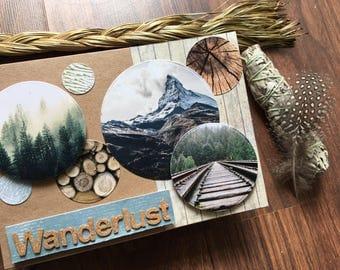 Wanderlust Circles Card