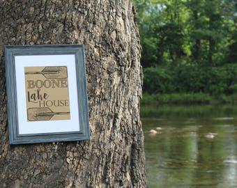 Boone Lake House - Tennessee - Digital Download Print