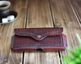 iPhone 7 case, Leather Case, iPhone 8, iPhone 6s, handmade leather case, leather goods , Men's gift, birthday gift
