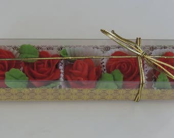 Cake Craft  Roses - (pack of 5)