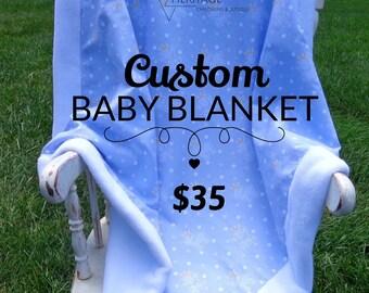Custom Baby Blanket
