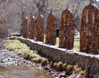 river of crosses