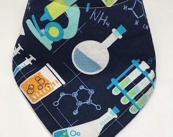 Chemistry Bandana Drool Bib Baby Bib Baby Shower Gift Bibdana Toddler Bib Teething Baby Baby Girl  Baby Boy