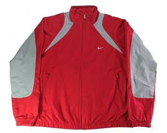 Vintage Nike Athletic Track Jacket