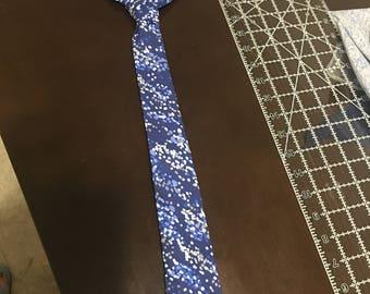 Navy Fashion Tie