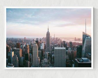 NYC Poster, NYC Digital Print, NYC Printable, New York City Print, New York City Photo, New York Printable, New York City Poster, City Print