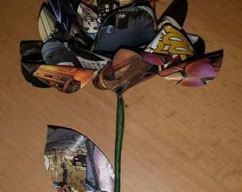 Comic book roses