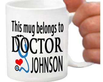 doctor mugs, doctor coffee mugs, doctor gift items, doctor coffee cups, gifts for doctors, doctors, ideas for doctors, custom doctor gifts