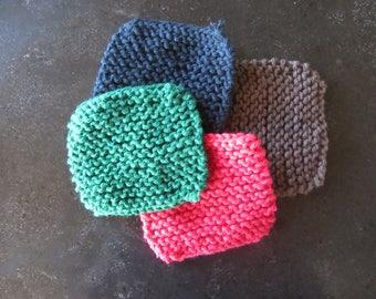 Washcloths, Dishcloths, Knit Washcloths, Handmade Washcloths