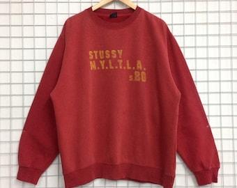 Vintage Stussy Sweatshirts Large Size Nice Design