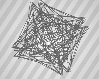 angolo aureo 06 - Svg Dxf Eps Silhouette Rld RDWorks Pdf Png AI Files Digital Cut Vector File Svg File Cricut Laser Cut