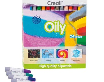 Oil pastels – Creall Oily – 24 colors