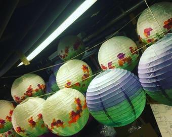 Personalized Chinese lanterns