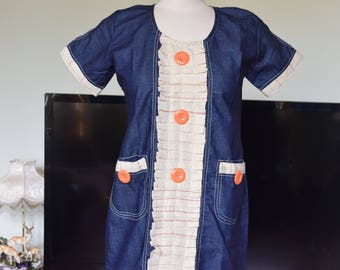 Denim Country Clothes women's dress.
