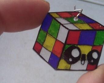 earring rubik's cube