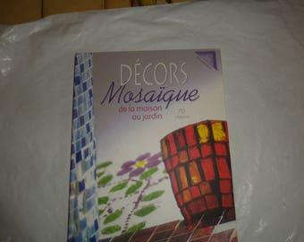 Book decor mosaic