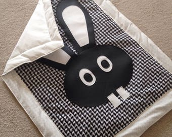 For stroller, pram or bassinet - OEKO TEX certified cotton baby blanket