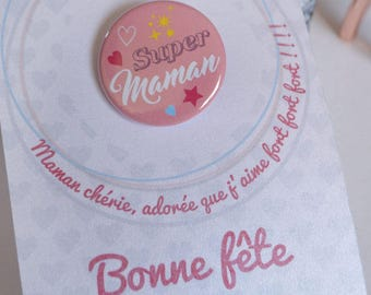 MOM card Badge