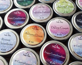 Set of 4 Soy Candles (2oz)