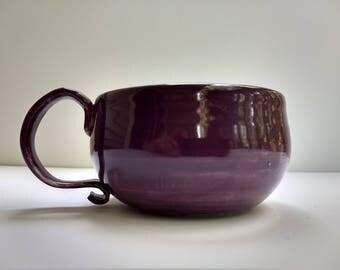 "Monday Morning Mug ""Purple"""