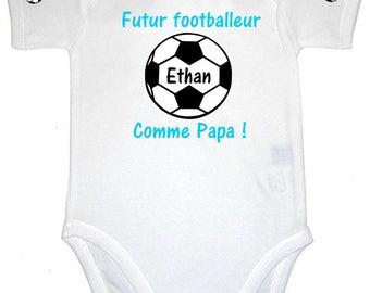 Future Football Dad baby Bodysuit