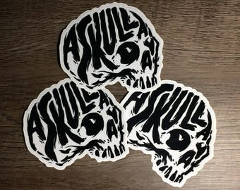 askulladay logo Stickers (Set of 3)