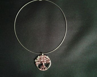 Tree of life Choker cable