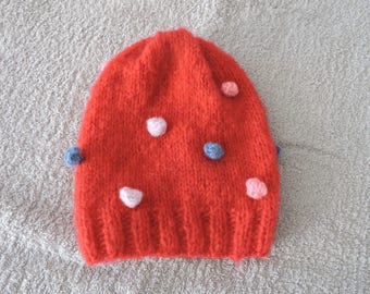 Wool Hat for girl 6 / 8 years