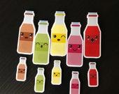 Milkshake magnetic bookmarks - the Milkshake Collection