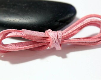 Pink PAILLETE - 5 m cord 3 x 1, 5mm