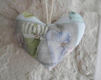 A love heart door hanging