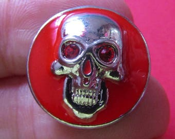 snap 20mm diameter metal theme