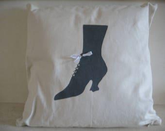 Free shipping! cushion gray chic shoe