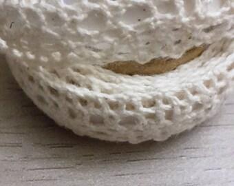 Sticky lace cotton