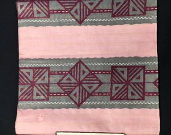Dutch African WAX fabric with a coupon for 50 cm