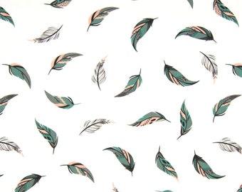 Poplin / feather / designer cotton, cut 25cm