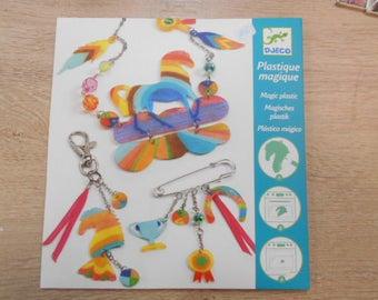 plastic nuts jewelry kit