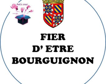 1 cabochon clear 25 mm Burgundy flag theme