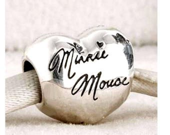 Genuine Pandora Minnie Mouse Signature Charm